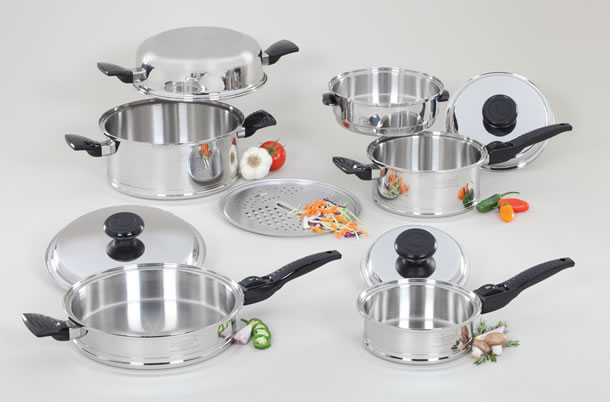 Lifetime Cookware 10-Piece Set