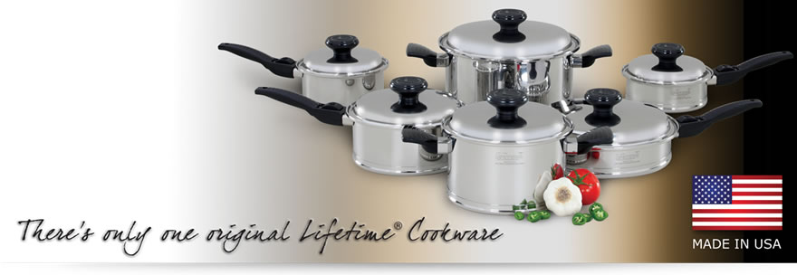 What Is Stainless Steel Made Of >> Lifetime Stainless Steel Cookware Made In The Usa