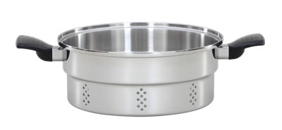 Lifetime 6 Qt./5.7 L Colander/Steamer